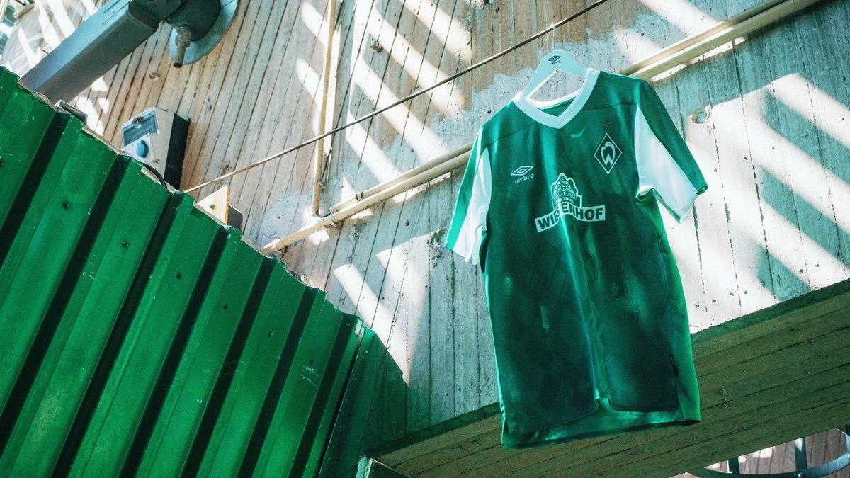 Camisetas Umbro del Werder Bremen 2020/21 | Imagen Web Oficial