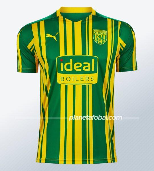 Camiseta suplente Puma del West Bromwich Albion 2020/21   Imagen Web Oficial