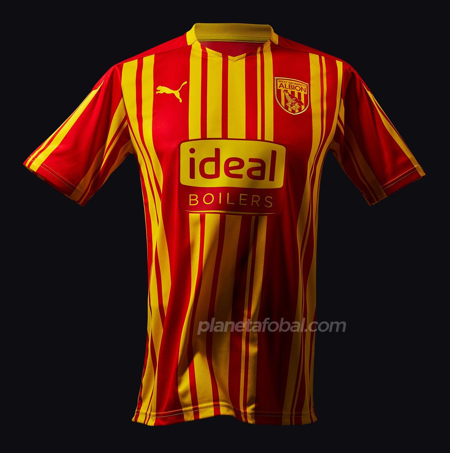 Tercera camiseta Puma del West Bromwich Albion 2020/21 | Imagen Web Oficial