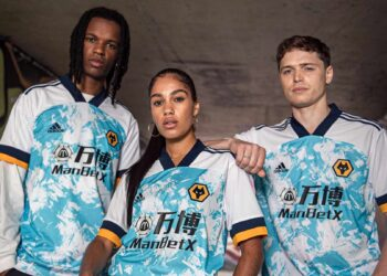 Camiseta suplente adidas del Wolverhampton 2020/21 | Imagen Web Oficial