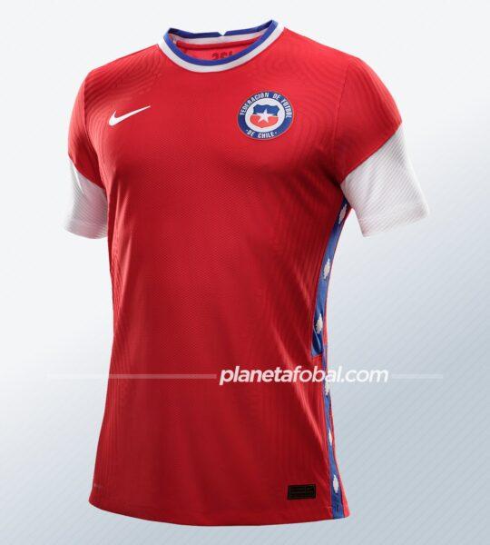 Camiseta titular de Chile 2020/2021 | Imagen Nike