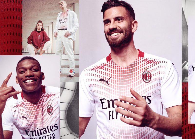 Maillot substitut AC Milan 2020/2021 | Image PUMA