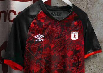 Tercera camiseta Umbro del América de Cali 2020/21 | Imagen Web Oficial