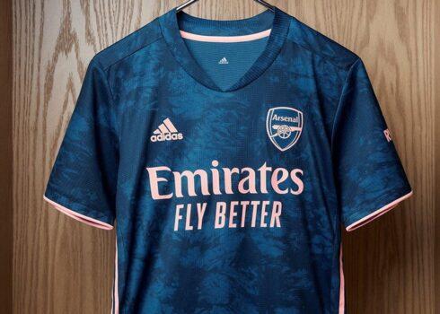 Tercera camiseta del Arsenal 2020/2021 | Imagen adidas