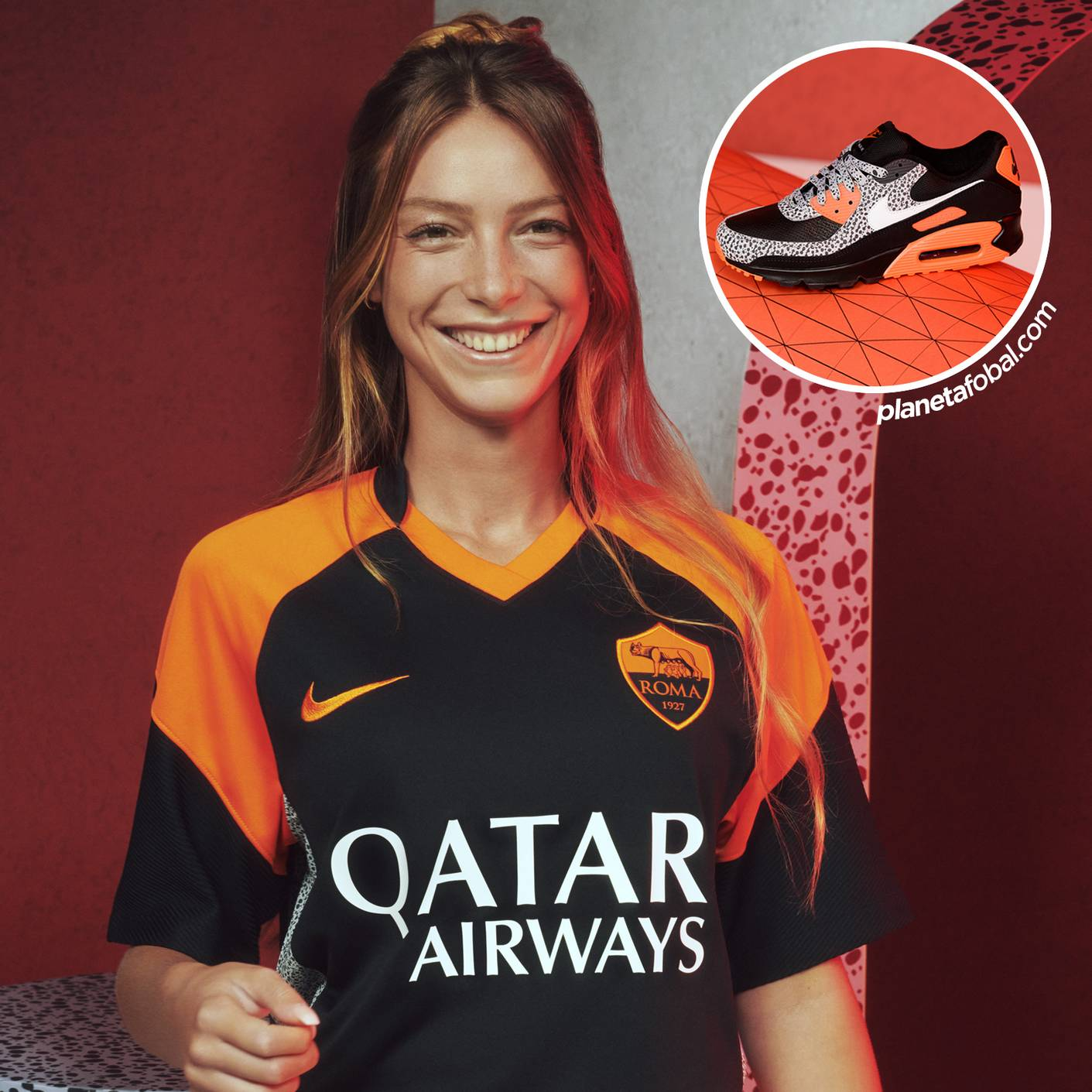 AS Roma / Air Max 90 Safari | Imágenes Nike