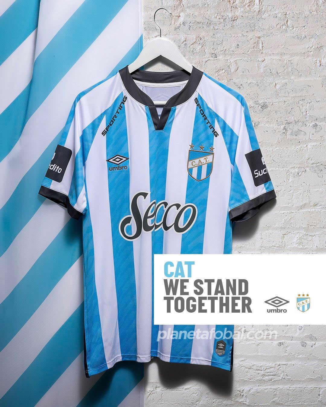 Camiseta titular de Atlético Tucumán 2020/21 | Imagen Umbro