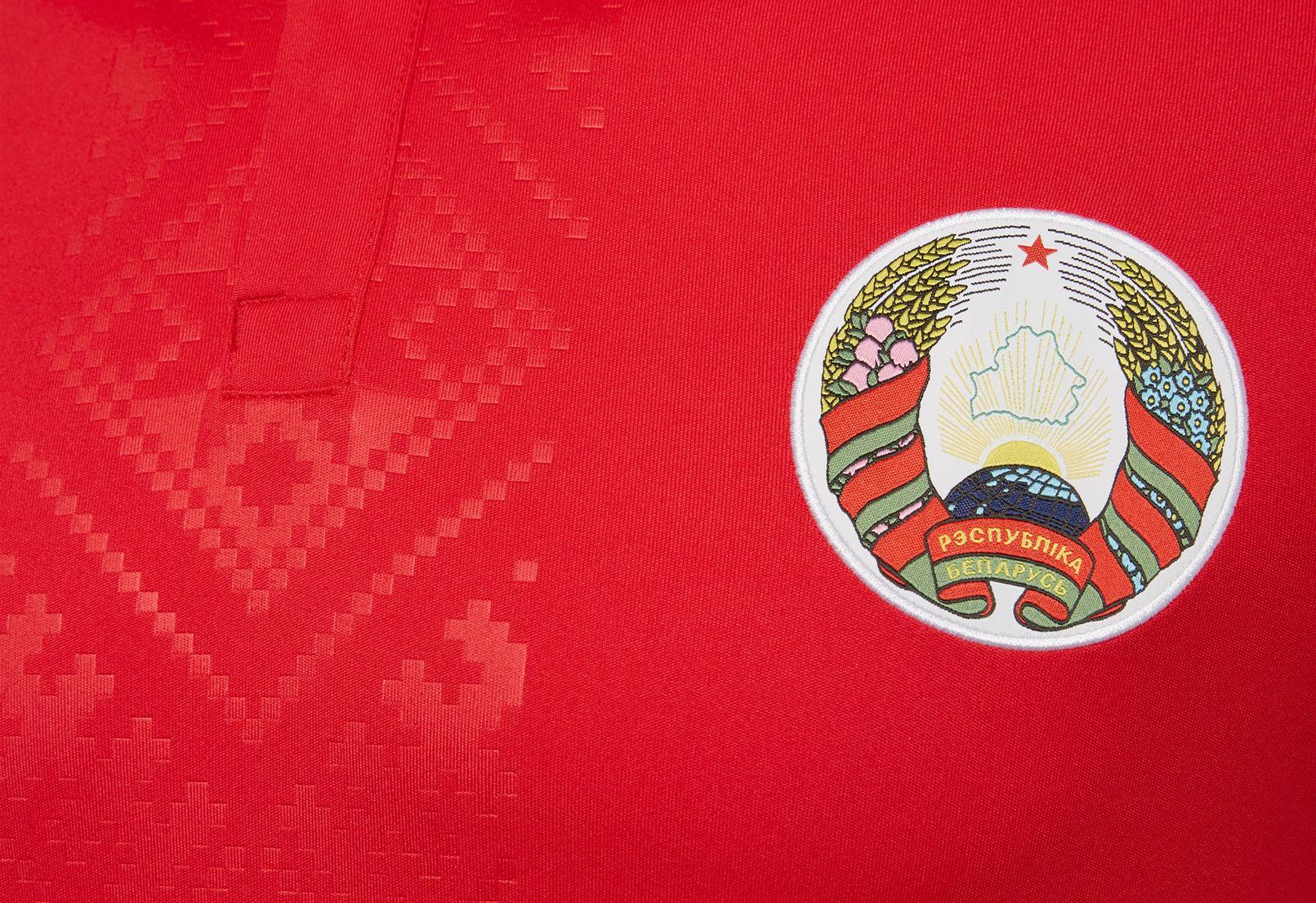 Camisetas de Bielorrusia 2020/21 | Imagen Macron