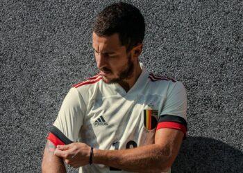 Camiseta suplente adidas de Bélgica 2020/2021 | Imagen Royal Belgian FA