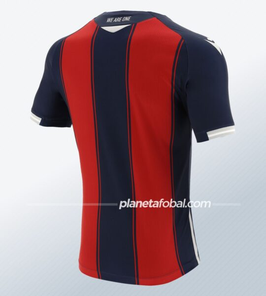 Camiseta titular Macron del Bologna 2020/21 | Imagen Web Oficial