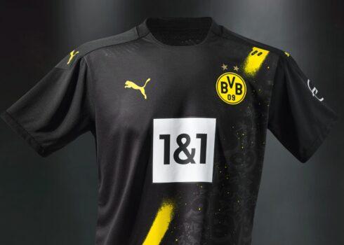Camiseta suplente del Borussia Dortmund 2020/2021 | Imagen PUMA