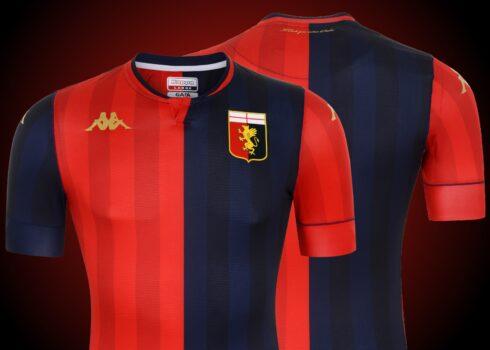 Camiseta titular del Genoa CFC 2020/21 | Imagen Kappa