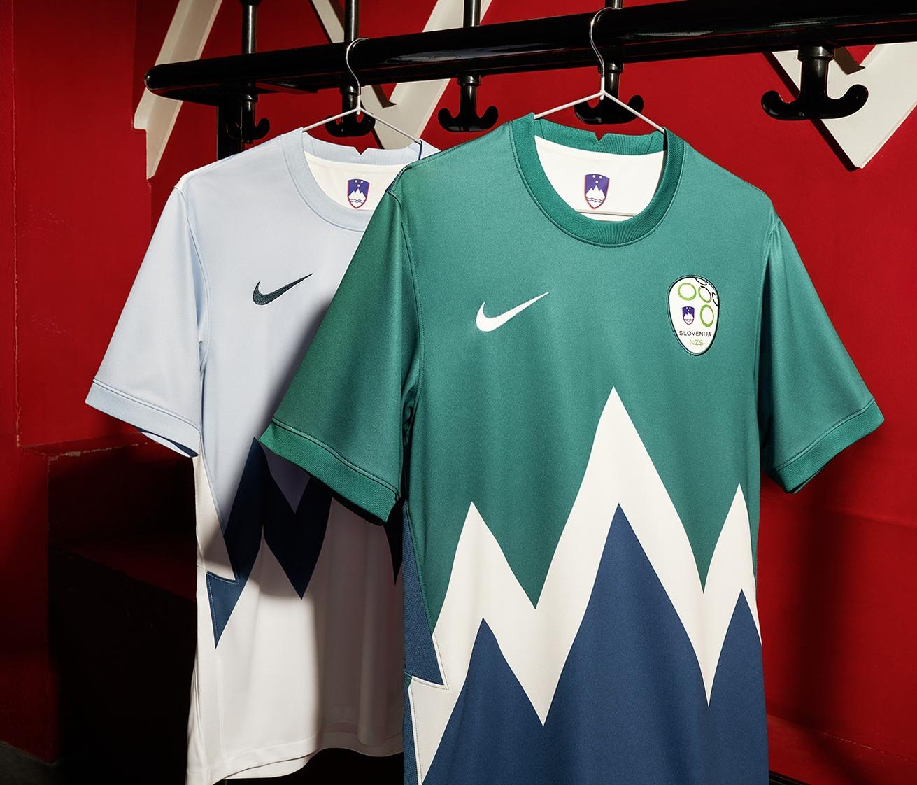 Camisetas Nike de Eslovenia 2020/21 | Imagen NSZ