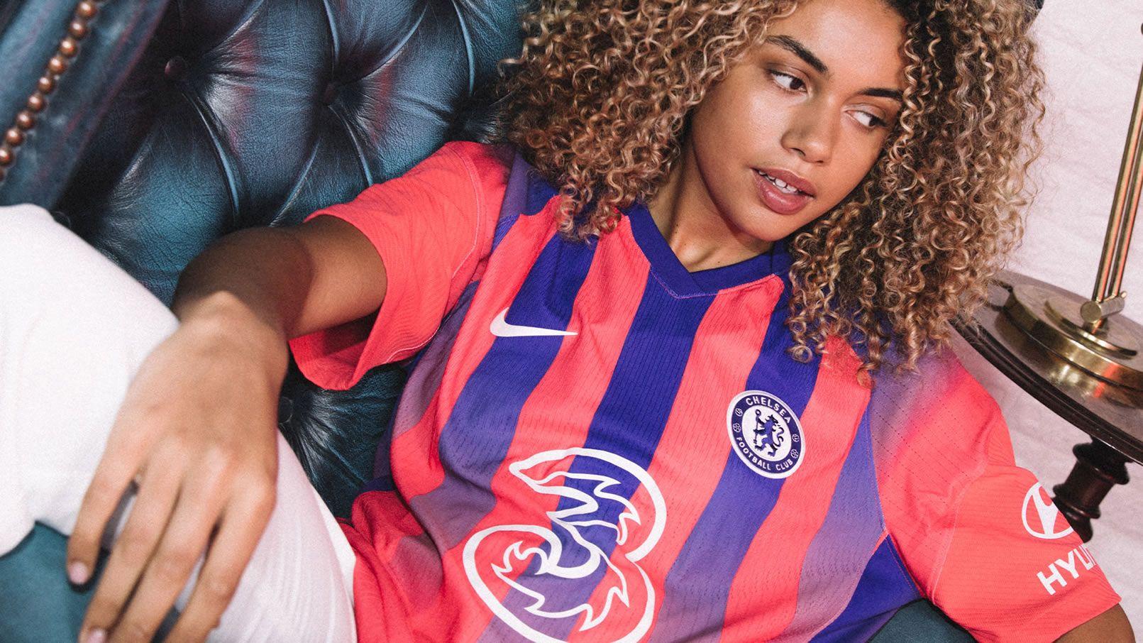 Tercera camiseta del Chelsea 2020/2021 | Imagen Nike