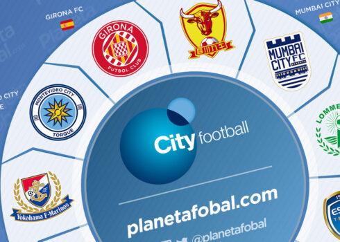 Los equipos que integran el City Football Group (CFG)
