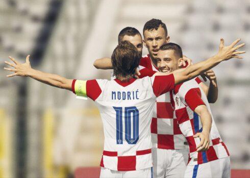 Camiseta titular de Croacia 2020/2021   Imagen Nike