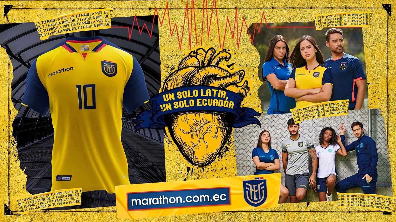 Camisetas Marathon de Ecuador 2020/2021