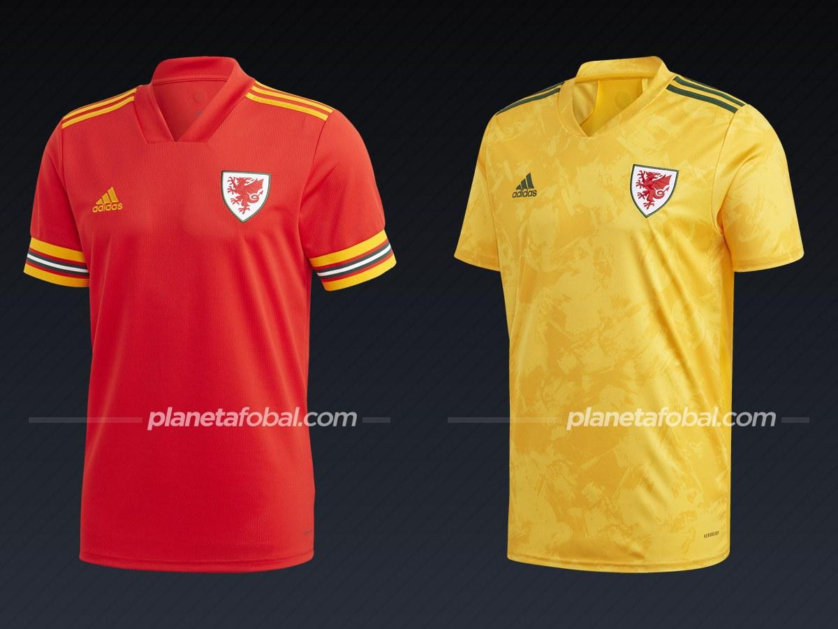 Gales (Adidas)   Camisetas de la Euro 2020