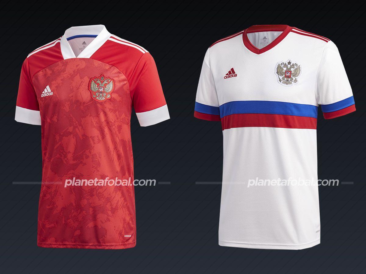 Rusia (Adidas)   Camisetas de la Euro 2020