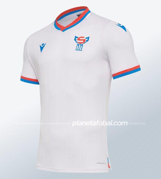 Camisetas de las Islas Feroe 2020/21 | Imagen Macron