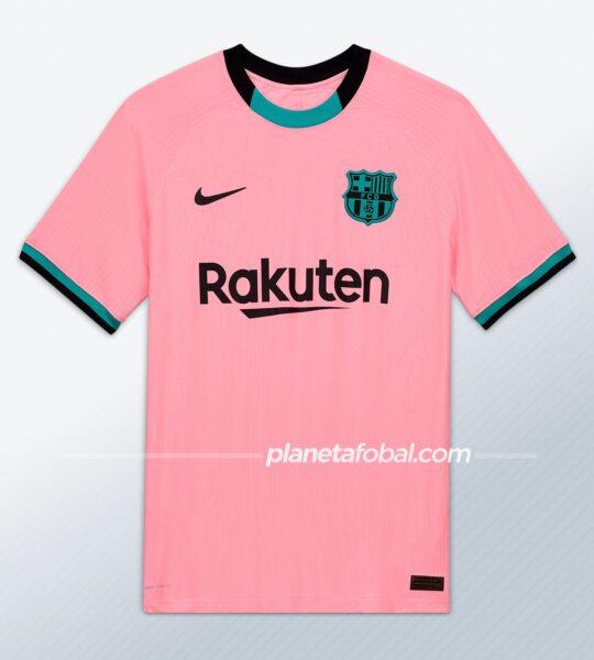 Tercera equipación del Barcelona 2020/2021 | Imagen Nike