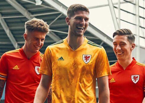 Camiseta suplente de Gales 2020/2021 | Imagen JD