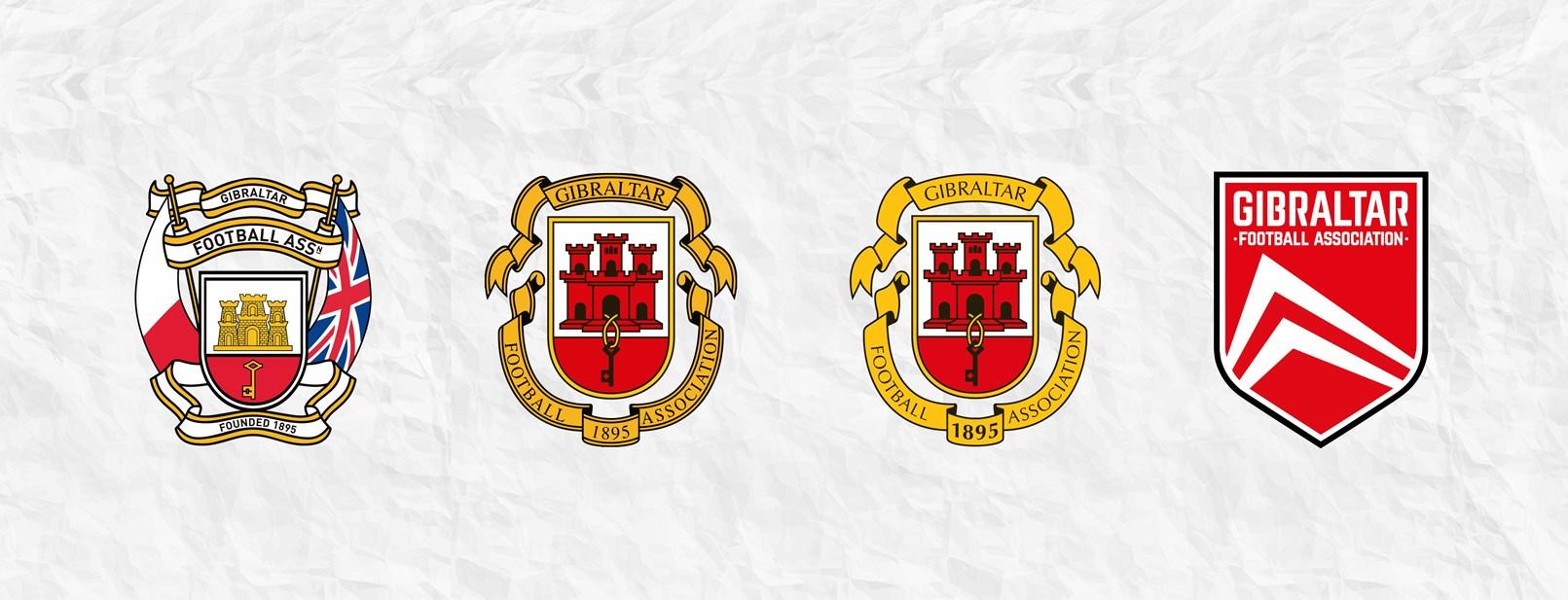 Evolución del logo de Gibraltar 1895-2020 | Imagen GFA