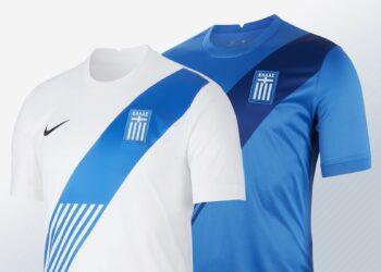 Camisetas de Grecia 2020/2021 | Imágenes Nike