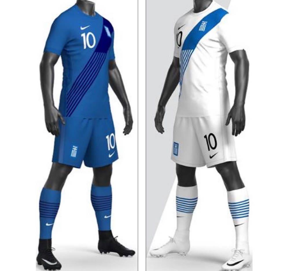 Camisetas Nike de Grecia 2020/2021   Imagen EPO