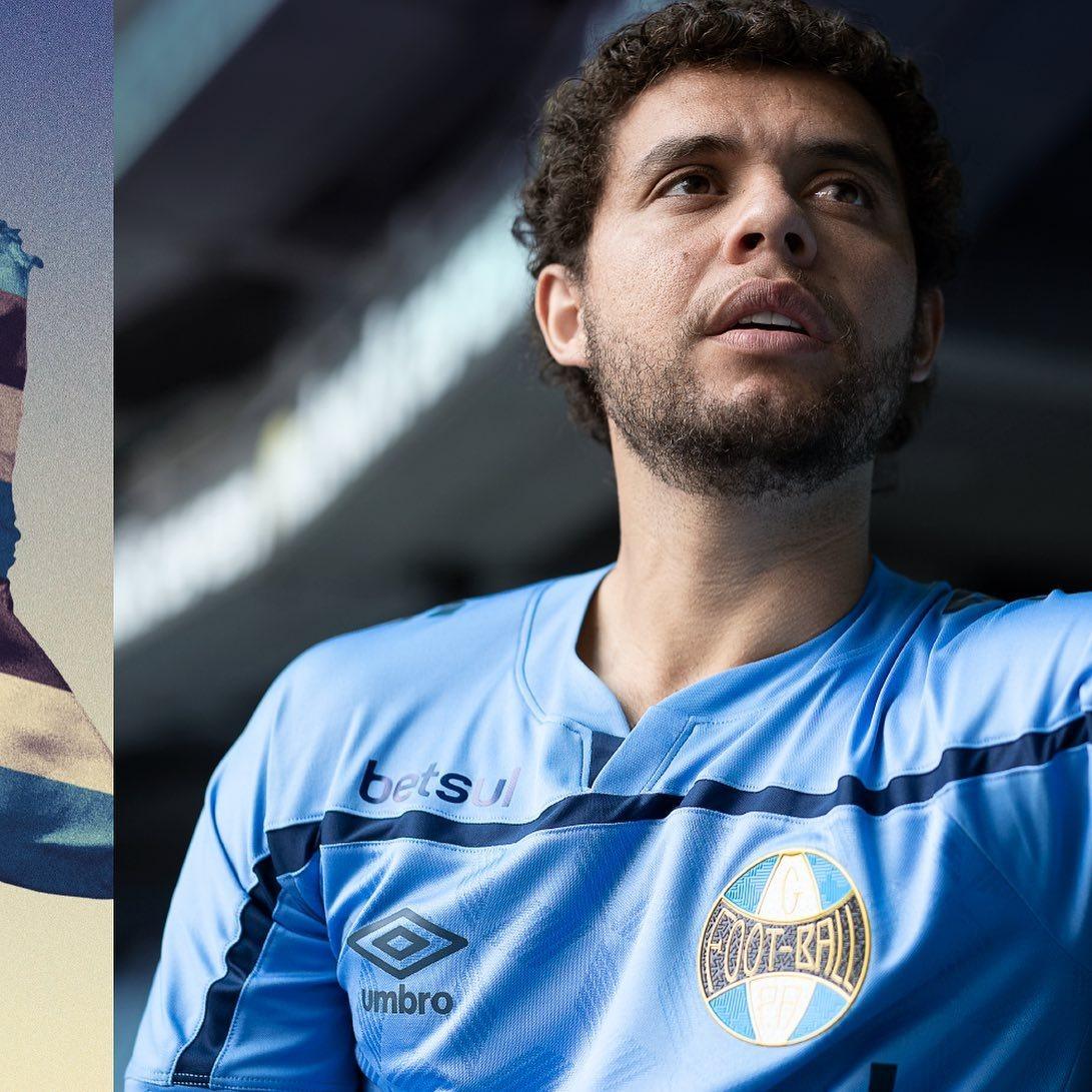 Tercera camiseta Umbro del Grêmio 2020/21 | Imagen Twitter Oficial