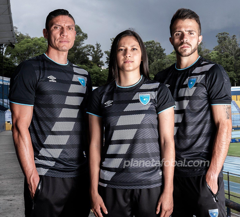 Tercera camiseta Umbro de Guatemala 2020/2021 | Imagen Fedefut