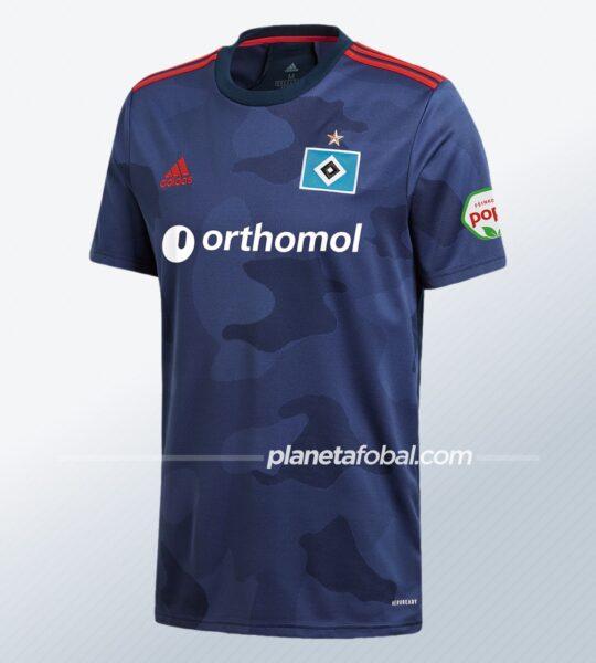 Camiseta suplente adidas del Hamburgo 2020/21 | Imagen Web Oficial