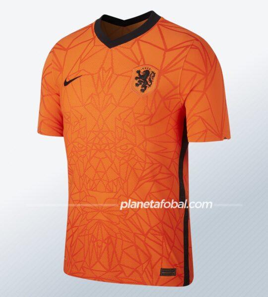 Camiseta titular de los Países Bajos 2020/2021   Imagen Nike