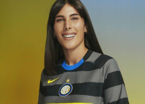 Tercera camiseta del Inter de Milan 2020/2021 | Imagen Nike