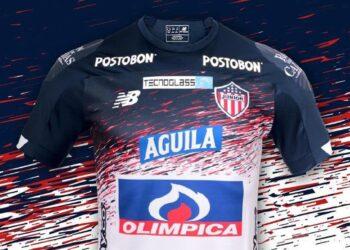 Camiseta suplente New Balance del Junior 2020/21 | Imagen Twitter Oficial