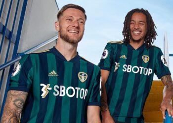 Camiseta suplente del Leeds United 2020/2021 | Imagen adidas