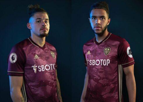 Tercera camiseta adidas del Leeds United 2020/2021   Imagen Web Oficial