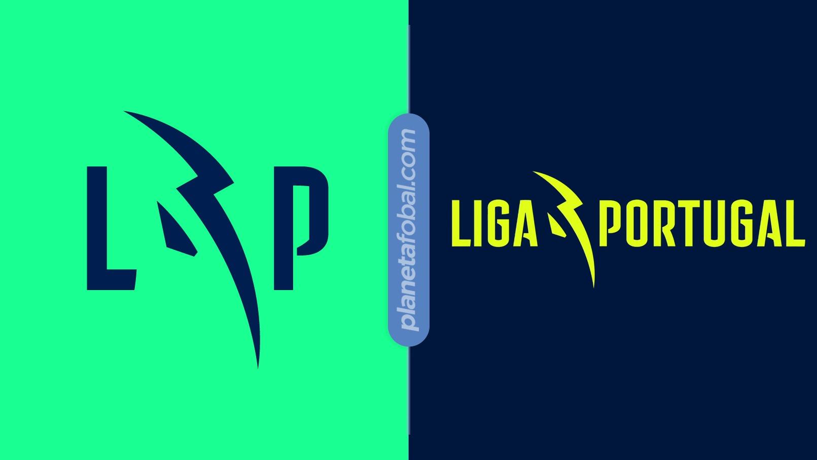 Otras versiones del nuevo logo de la Liga Portugal | Imagen Web Oficial