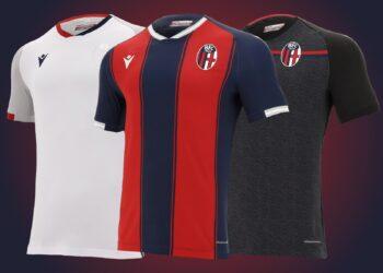 Camisetas Macron del Bologna 2020/21 | Imagen Web Oficial