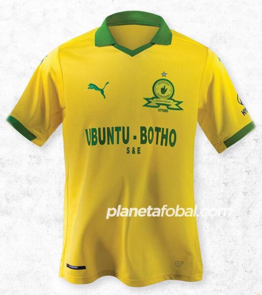 Camisetas Puma del Mamelodi Sundowns 2020/21 | Imagen Web Oficial