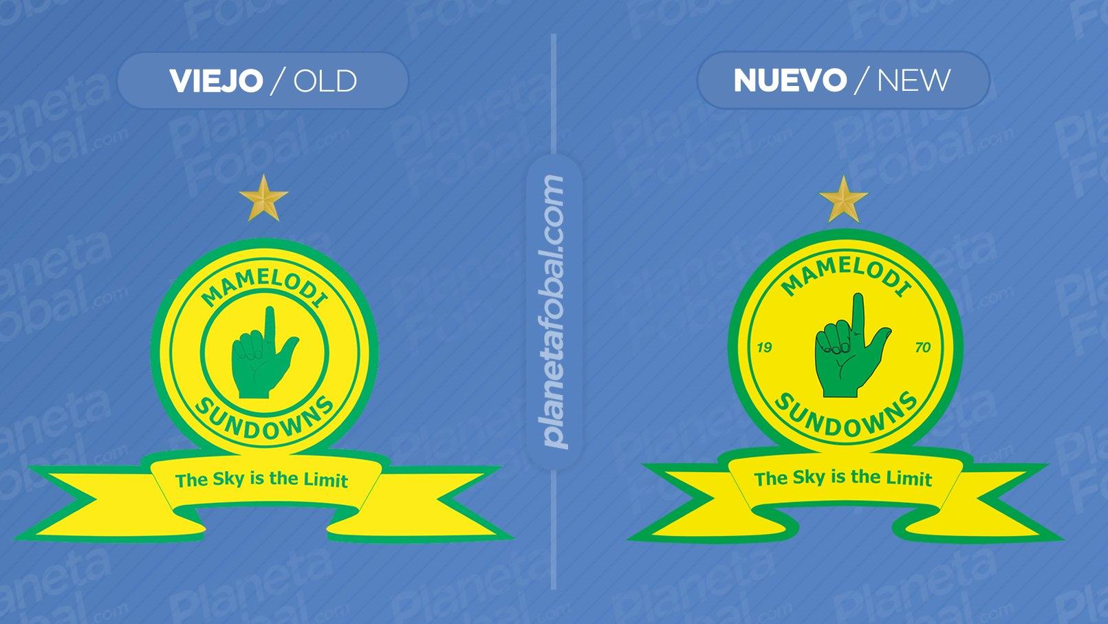 Mamelodi Sundowns actualizó además su escudo | Imágenes Web Oficial