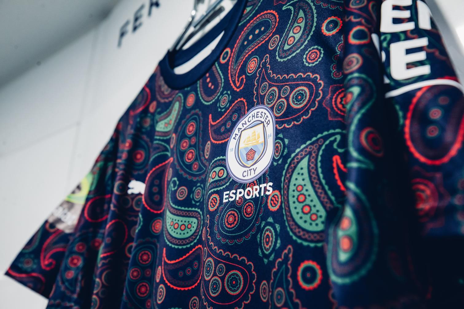 """Camiseta PUMA del Manchester City """"ESports""""   Imagen Web Oficial"""