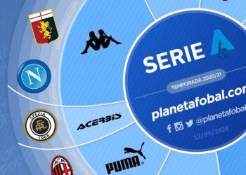 Marcas deportivas de la Serie A 2020/2021