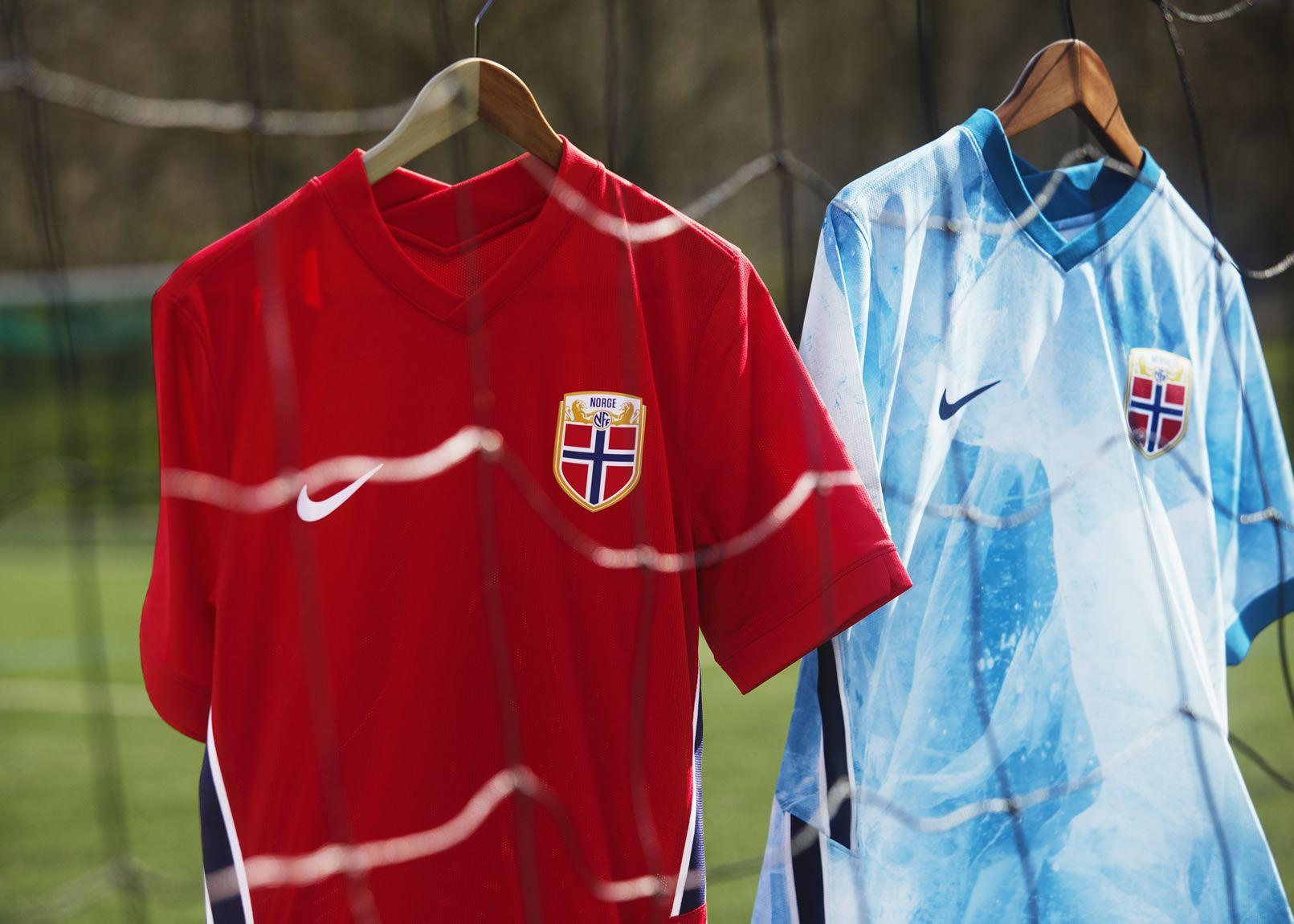 Camisetas de Noruega 2020/2021 | Imagen Nike