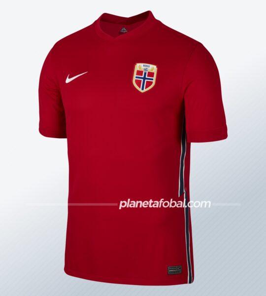 Camiseta titular de Noruega 2020/2021 | Imagen Nike