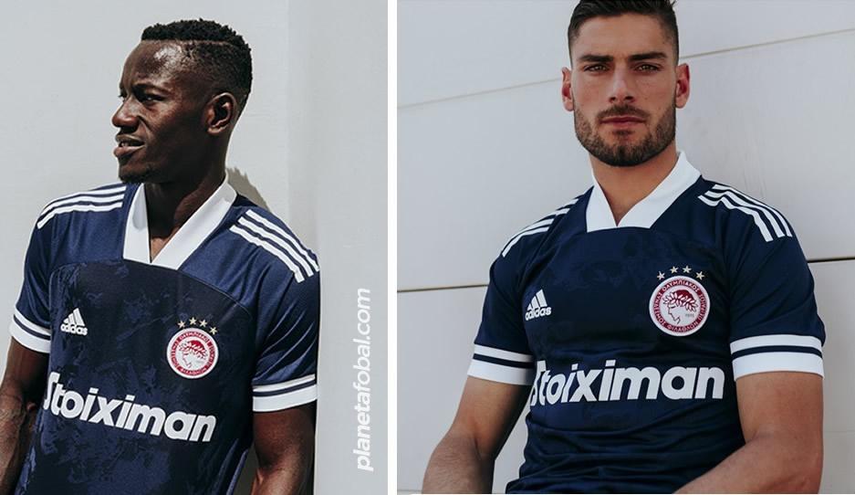 Camisetas adidas del Olympiacos 2020/21 | Imagen Web Oficial