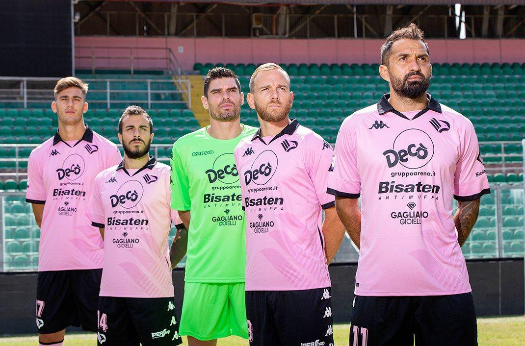 CamisetasKappa del Palermo 2020/2021 | Imagen Web Oficial