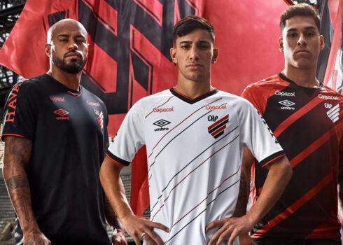 Camisetas Umbro del Athletico Paranaense 2020/21 | Imagen Web Oficial