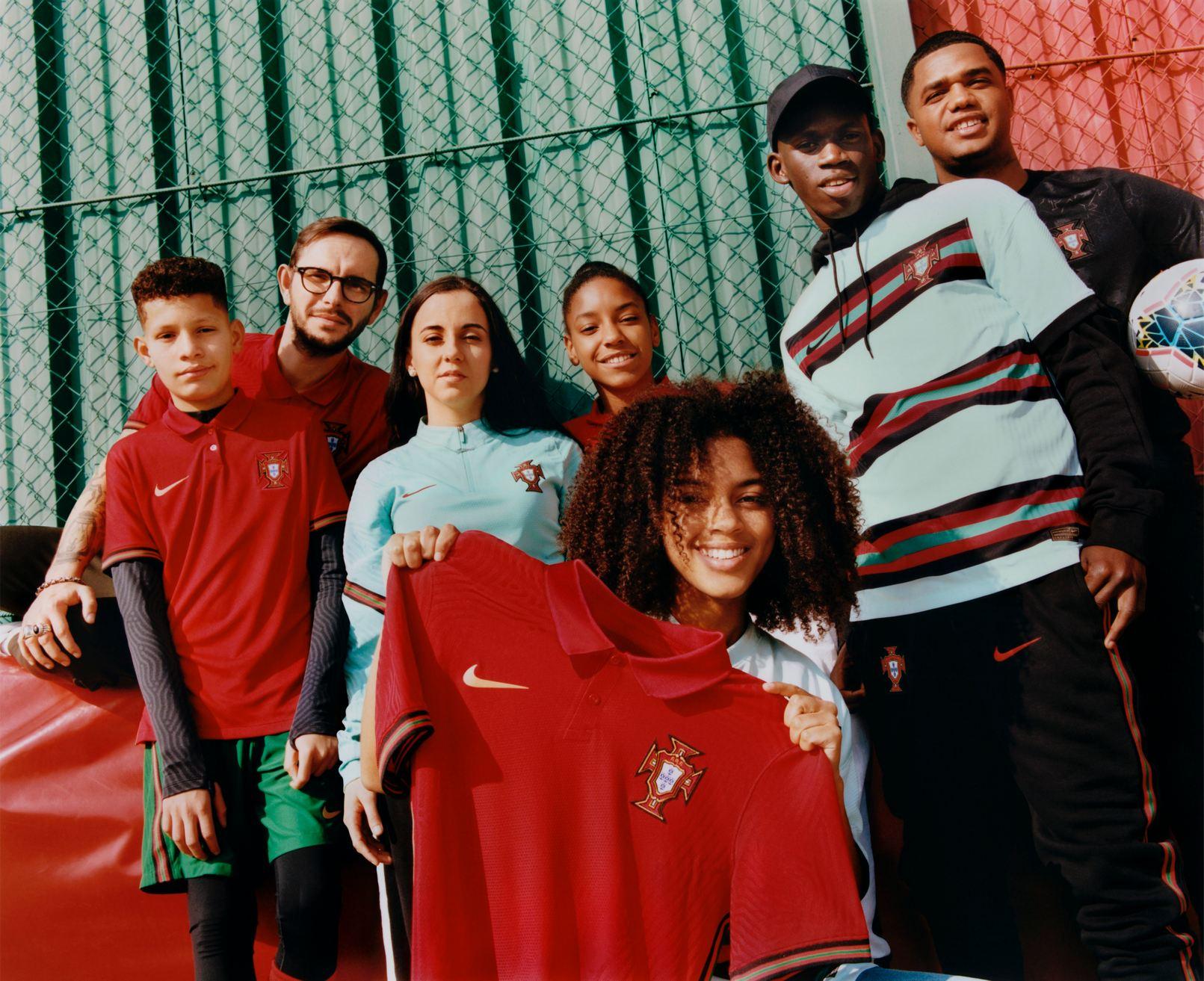 Camisetas de Portugal 2020/2021 | Imagen Nike