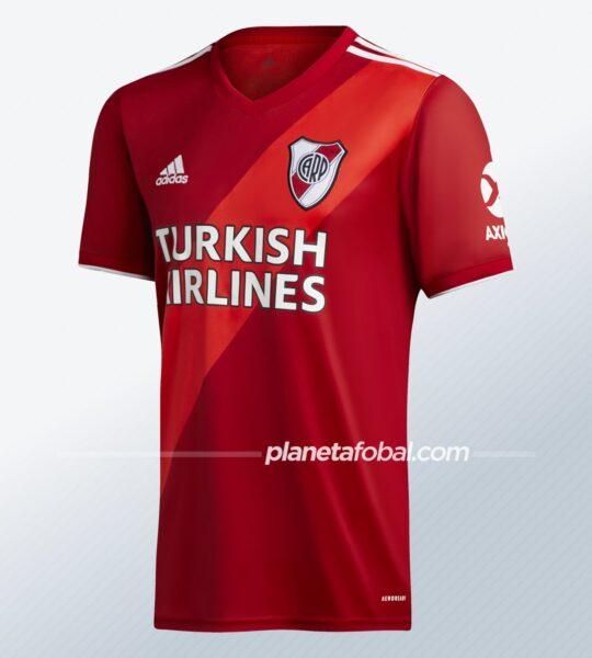 Camiseta suplente de River 2020/2021 | Imagen adidas