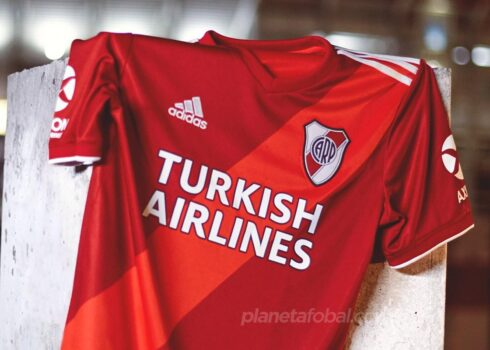 Camiseta suplente adidas de River 2020/2021 | Imagen Web Oficial